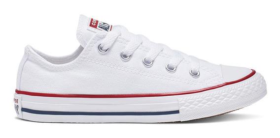 Zapatillas Converse Chuck Taylor All Star Lona Blanca Niños