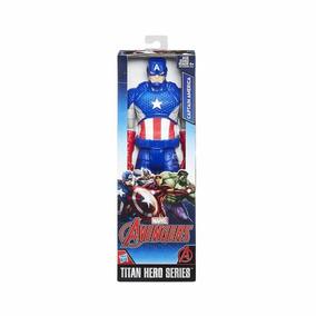 f6f92294c2 Capitao America Hasbro - Bonecos e Figuras de Ação no Mercado Livre ...