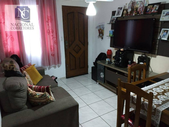 Apartamento Com 2 Dormitórios À Venda, 48 M² Por R$ 150.000,00 - Fazenda Da Juta - São Paulo/sp - Ap9307