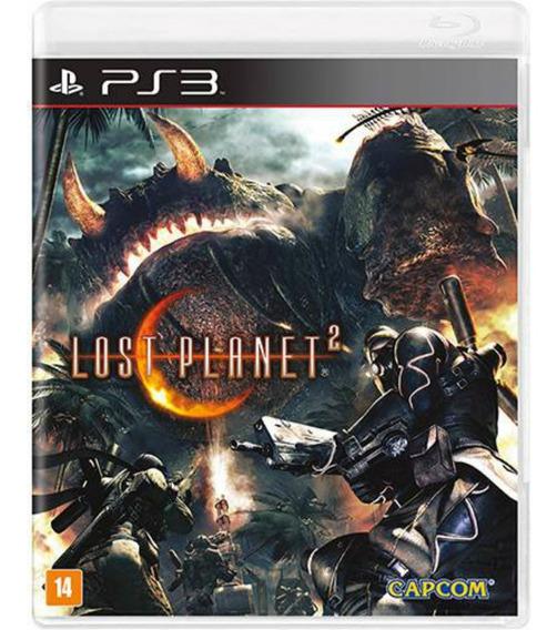 Lost Planet 2 Ps3 Jogo Lacrado Mídia Física Rcr Games