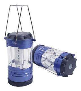 Farol Linterna Luces Led Para Camping Con Regulador X 2 - E