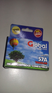 Cartucho 57 Xl Color Global 1210 7760 5650 5850