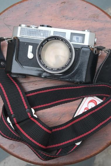 Canon 7 Com Lente Canon 50mm 1.2 Raríssima
