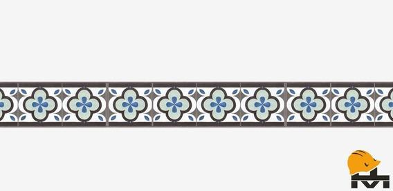 Guarda Porcelanato Piso Urba 14x56,7 Caja X 12u Mat. Melian