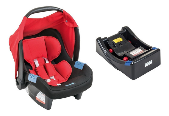 Bebê Conforto Touring Evolution Se Burigotto Red + Base