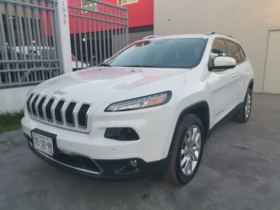 Jeep Cherokee Limited 2015 Color Blanco