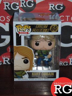 Pop! Rocks -kurt Cobain (65) + Caja Protectora De Acetato *