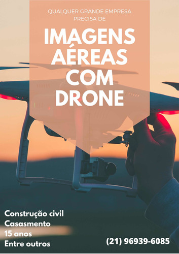 Imagem 1 de 3 de Imagens Aéreas Com Drone