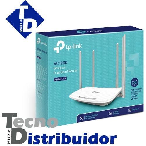 Router Inalámbrico Doble Banda Ac1200 Archer C50 Tp-link Td