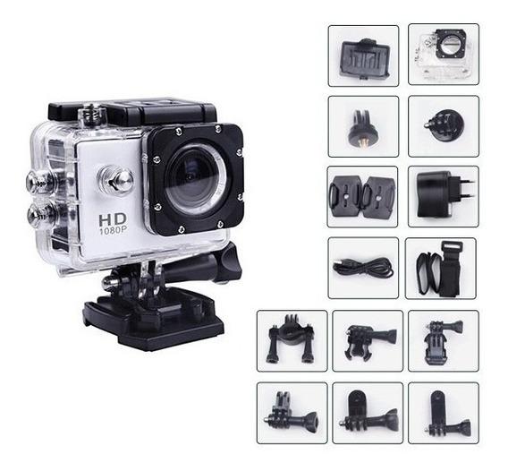 Camera Esportiva Ação Full Hd 1080p Prova D