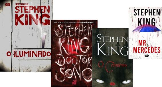 O Iluminado Stephen King+doutor Sono+o Cemitério+mr Merces