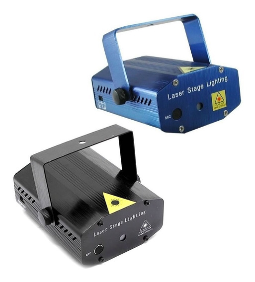 Projetor Holográfico Canhão Laser Efeitos Strobo Festas Dj