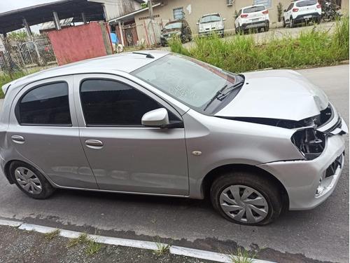 (3) Sucata Toyota Etios X 1.3 Flex 2018 (retirada Peças)