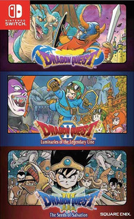 Dragon Quest 1,2,3 Trilogy Collection Nintendo Switch Nuevo