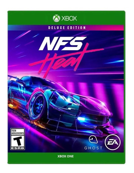 Need For Speed Heat Deluxe Edition Xbox One Midia Digital