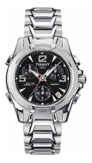 Relógio Tissot Pr100 Flyback Chrono Alarm