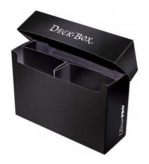 Ultra Pro: Caja De Cubierta Extragrande - Negro (hold 2 Deck