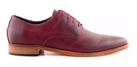 Zapato Cuero Casual Hombre Briganti Suela Hcac00868 Fl