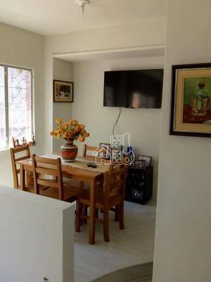 Casa Residencial À Venda, Icaraí, Niterói. - Ca0782