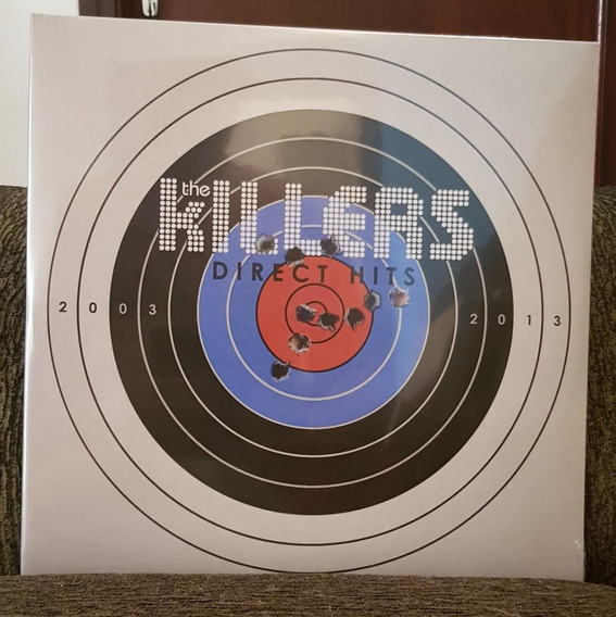 The Killers - Direct Hits Lacrado E Importado