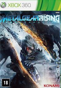 Metal Gear Rising - Xbox 360 (mídia Física Lacrada)