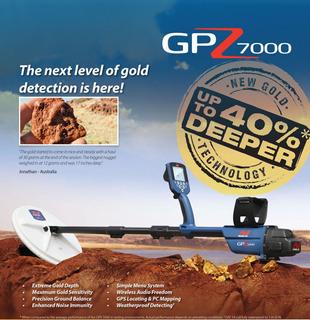Minelab Gpz 7000 Todo Terreno Dorada Detector De Metales Con