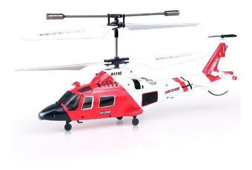 Imagen 1 de 4 de Helicóptero Con Giróscopo Y Control Remoto 3.5 Syma S111g