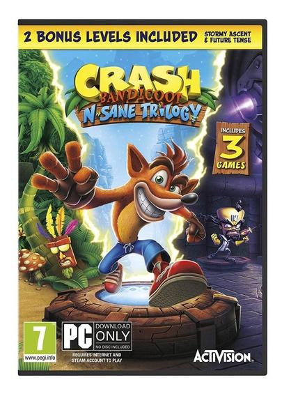 Crash Bandicoot N. Sane Trilogy Pc Steam Key