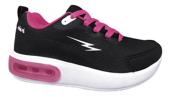 Tenis Mini-pe 07/2019 Mp1953 Preto/pink