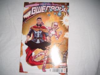Comic The Unbelievable Gwenpool #4 Marvel Portada Variante