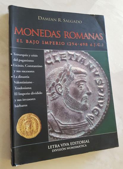 Livro Em Espanhol Moedas Monedas Romanas Damian Salgado