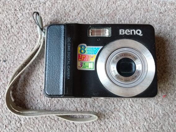 Camara De Fotos Digital Benq Dcc 840 Lente Pentax + Cable Av