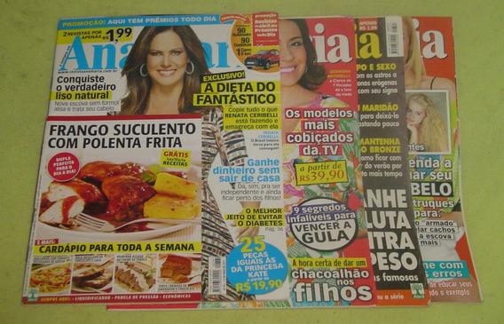 Lote Com 4 Revistas Ana Maria - Códico 231- Frete Grátis