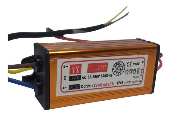 Driver Reator Para Reposição Refletor Led 20w Bivolt Kit 22