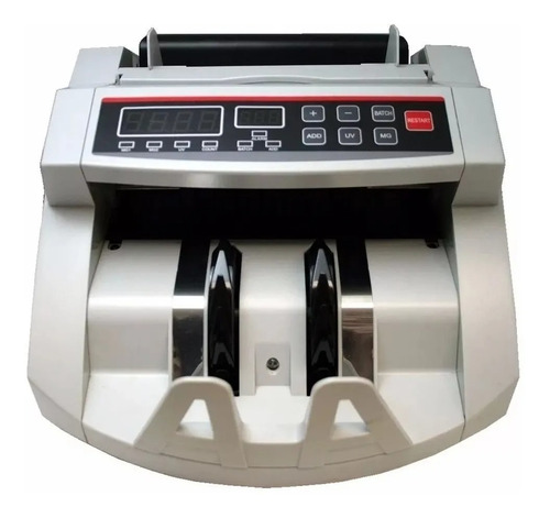 Maquina De Contar Billetes Con Detector - Visor P/ Clientes