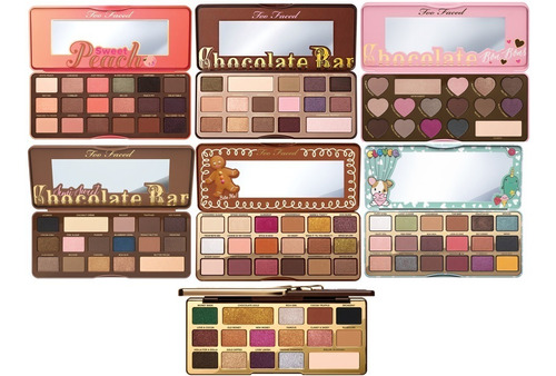 Paleta De Sombras Too Faced Chocolate Peach Con Aroma Elige Mercado Libre