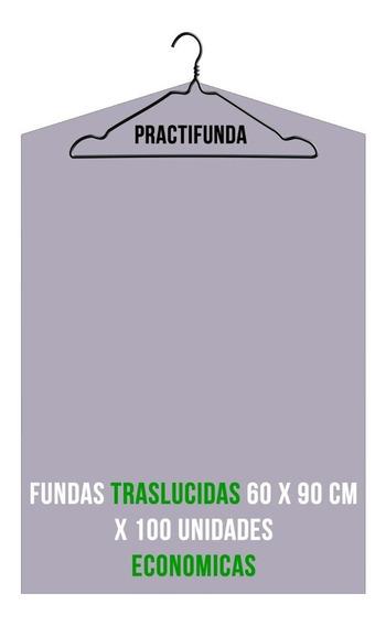 Bolsa Lavadero Funda Traslucida Camisa Saco 60x90 X 100 U.