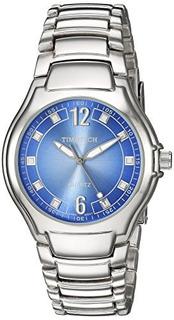 Reloj Casual De Acero Y Metal Cuarzo Timetech Denim De Viva