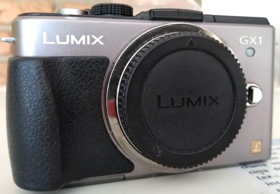 Panasonic Lumix Gx1- Corpo -melhor Preço Do Ml