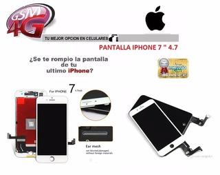 Pantalla iPhone 7 + (lcd + Mica Tactil) + Tienda Fisica