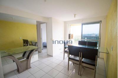Apartamento Com 4 Dormitórios Para Alugar, 122 M² Por R$ 2.500/mês - Maraponga - Fortaleza/ce - Ap0701