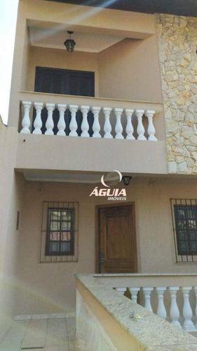 Imagem 1 de 10 de Sobrado Com 3 Dormitórios À Venda, 230 M² Por R$ 650.000 - Parque Novo Oratório - Santo André/sp - So1543