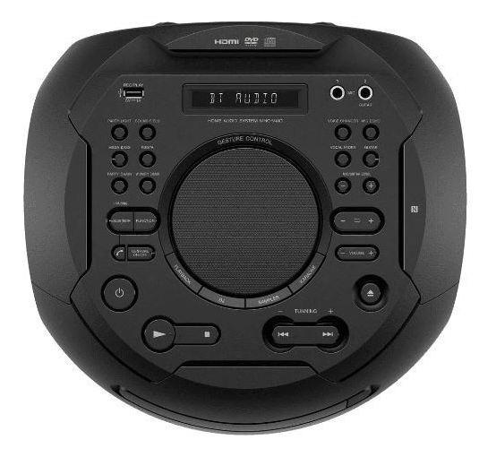 Caixa Amplificada Torre, Bluetooth, Karaokê,controle Por Ges