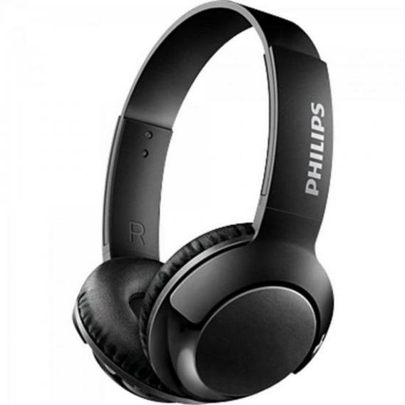 Fone De Ouvido Philips Wireless Shb3075 Com Bluetooth Preto