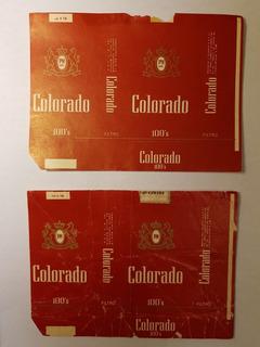 Lote De 4 Marquillas Colorado 100