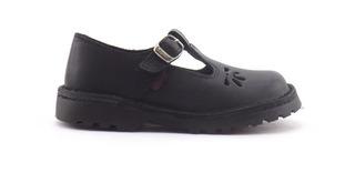 Zapatos Colegial Guillermina Marcel Cuero Calada Nena 27-33