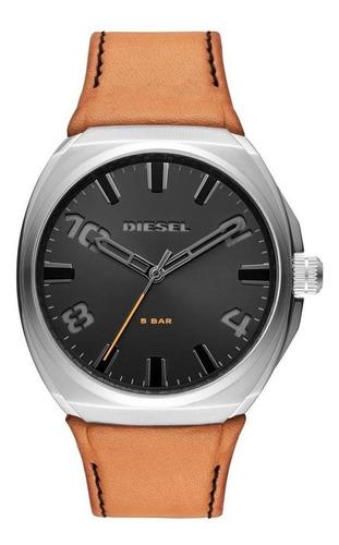 Relógio Masculino Diesel Stigg Prata - Original