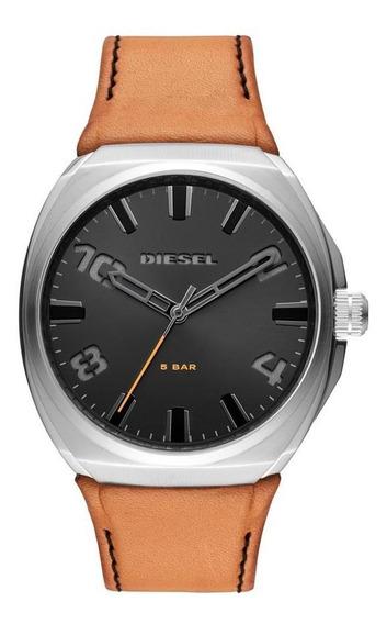 Relógio Diesel Masculino Stigg Prata Dz1883/0mn
