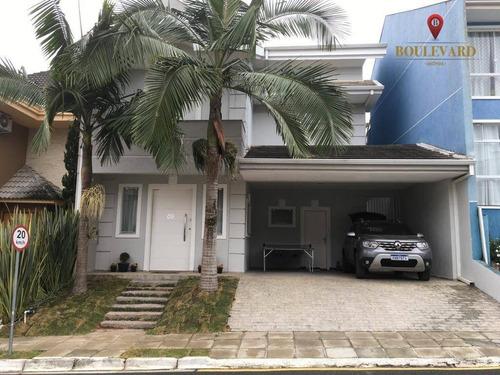 Imagem 1 de 30 de Casa No Residencial Bella Vista, Com 4 Dormitórios À Venda, 290 M² Por R$ 1.290.000 - Santa Cândida - Curitiba/pr - Ca0243
