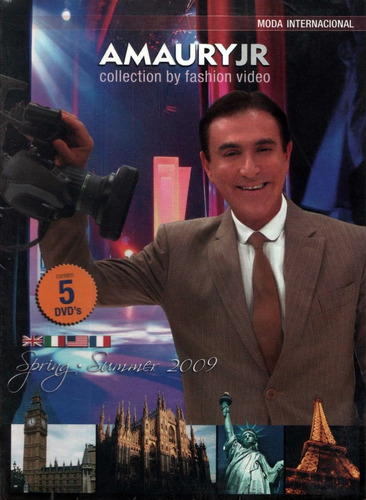 Dvd  Amaury Jr. - Collection By Fashion Video -  Lacrado